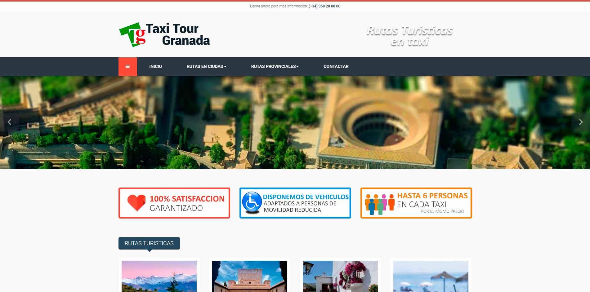 Taxi Tour Granada